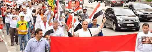 Passeata de Apoio ao Povo Sírio