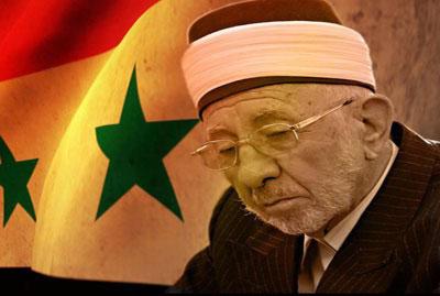 Clérigo Mohammad Said Ramada al-Bouti, assassinado dia 21/3/2013 em ataque terrorista à mesquita Eman, Damasco.