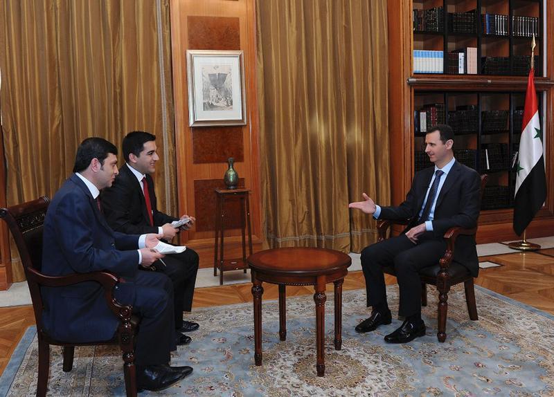Entrevista do presidente sírio à rede Ulusal Kanal em 5/4/2013
