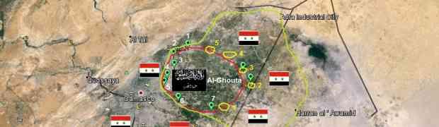 Al-Ghouta Oriental - o cerco ao terrorismo