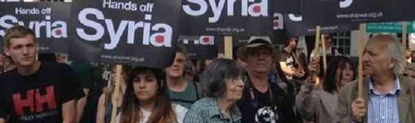 É preciso impedir a agressão à Síria