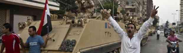 Postura do Exército no Egito não foi golpe.