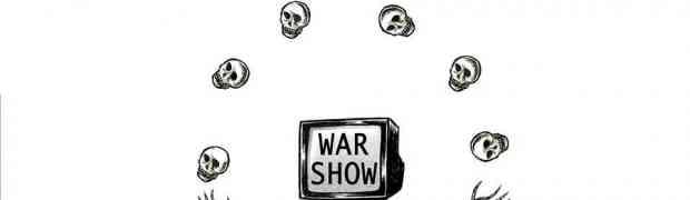 Charges Anti-Guerra - uma forte mensagem