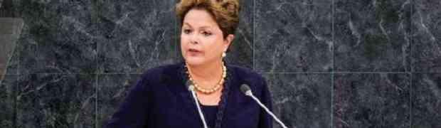 O que a Dilma falou sobre o Oriente Médio?