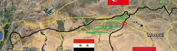 A situação no Nordeste extremo da Síria