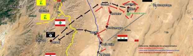 Al-Qalamoun, o Exército Sírio decide reagir.