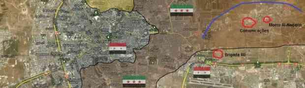 Aleppo: o Exército Sírio virá pelo leste?