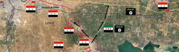 Importante vitória do Exército Sírio em Al-Sfeira
