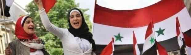As mulheres sírias, pela Paz e Soberania do país