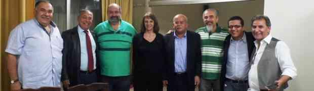 Encontro de camaradas libaneses e brasileiros