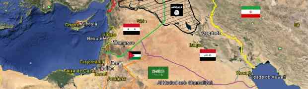 A geografia do Califato da Al-Qaeda