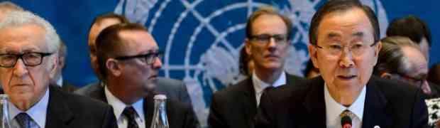 A Conferência de Genebra sobre a Síria