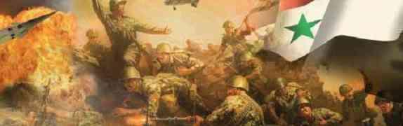A trincheira dos Exércitos Libanês, Sírio e Egípcio