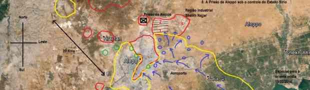 Enquanto isso, o Exército Sírio avança...