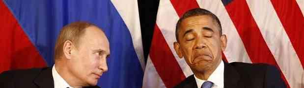 Ucrânia: Putin conteve Obama