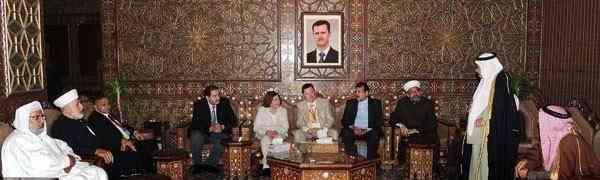 Delegação dos Defensores da Paz Internacional visita Síria