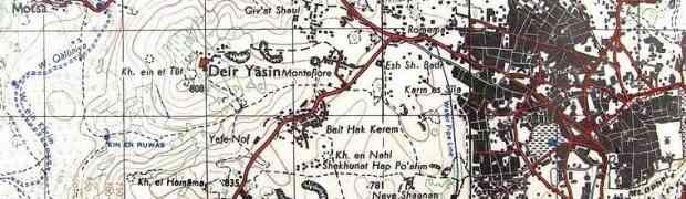 Deir Yassin: 66 anos limpeza étnica e genocídio dos palestinos e a fundação de Israel