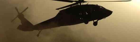Helicópteros iraquianos destroem comboio de extremistas na Síria