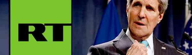 John Kerry ataca rede de televisão russa.