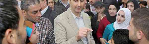 Presidente sírio Baschar Al Assad na busca da unidade nacional, concede anistia geral