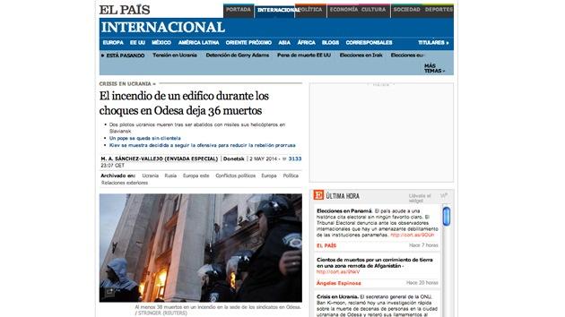 Captura de tela de www.internacional.elpais.com