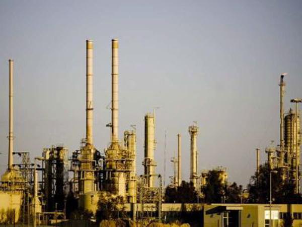 A refinaria de Baiji.