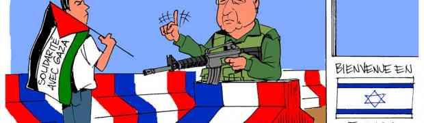 Caso sem precedentes: França impede uma manifestação pró-Palestina
