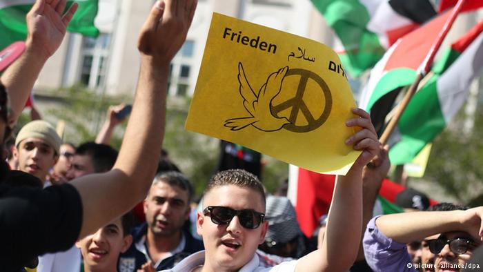 GAZA-protesto