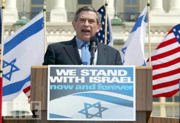 Paul Wolfowitz, presidente do Banco Mundial e ex-vice-secretário de Defesa.