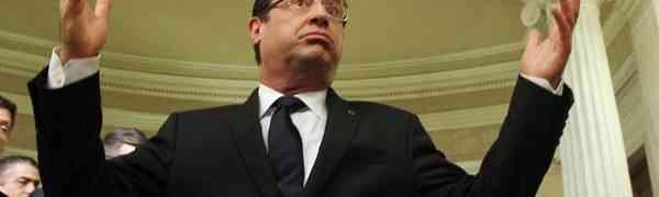 Hollande admite que França entregou armas a rebeldes na Síria