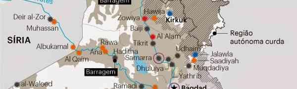 Bombardeio americano no Iraque: Petróleo e Erbil