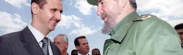 Bashar Al Assad: A resistência de Fidel Castro é um exemplo para os povos do mundo