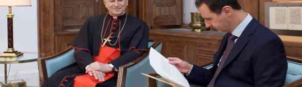 Em uma mensagem ao Presidente Al-Assad, Papa Francisco expressa sua profunda solidariedade com a Síria e seu povo