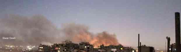 Aeroporto militar nos arredores de Damasco é atacado por mísseis israelenses