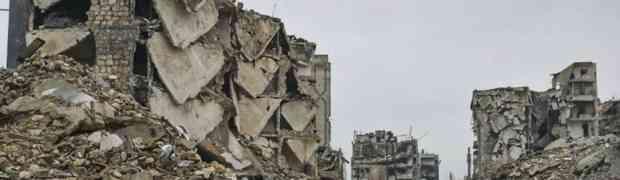 Das cinzas: governo sírio aprova plano para reconstrução de Aleppo