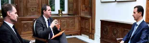 Presidente Bashar al-Assad : Nós lutamos pelo povo sírio, portanto, eles apóiam seu governo, exército e presidente