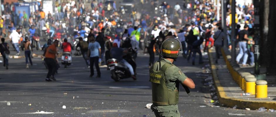 Venezuela-disturbios