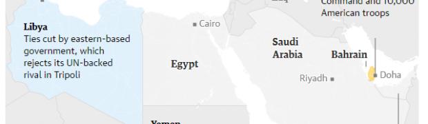 Israel tem algo a ver com escândalo diplomático em torno do Qatar?
