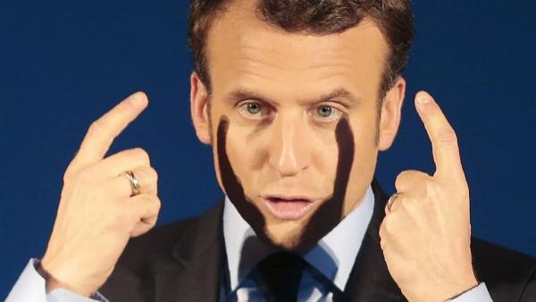 Emmanuel Macron. - PASCAL POCHARD-CASABIANCA / AFP