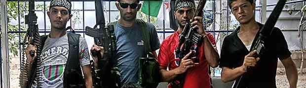 Bilhões de dólares dearmas contraaSíria