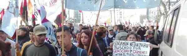 Netanyahu na Argentina: Vendas de armas e treinamento para represores do povo